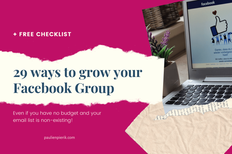 How to grow a Facebook Group – without a budget or email list